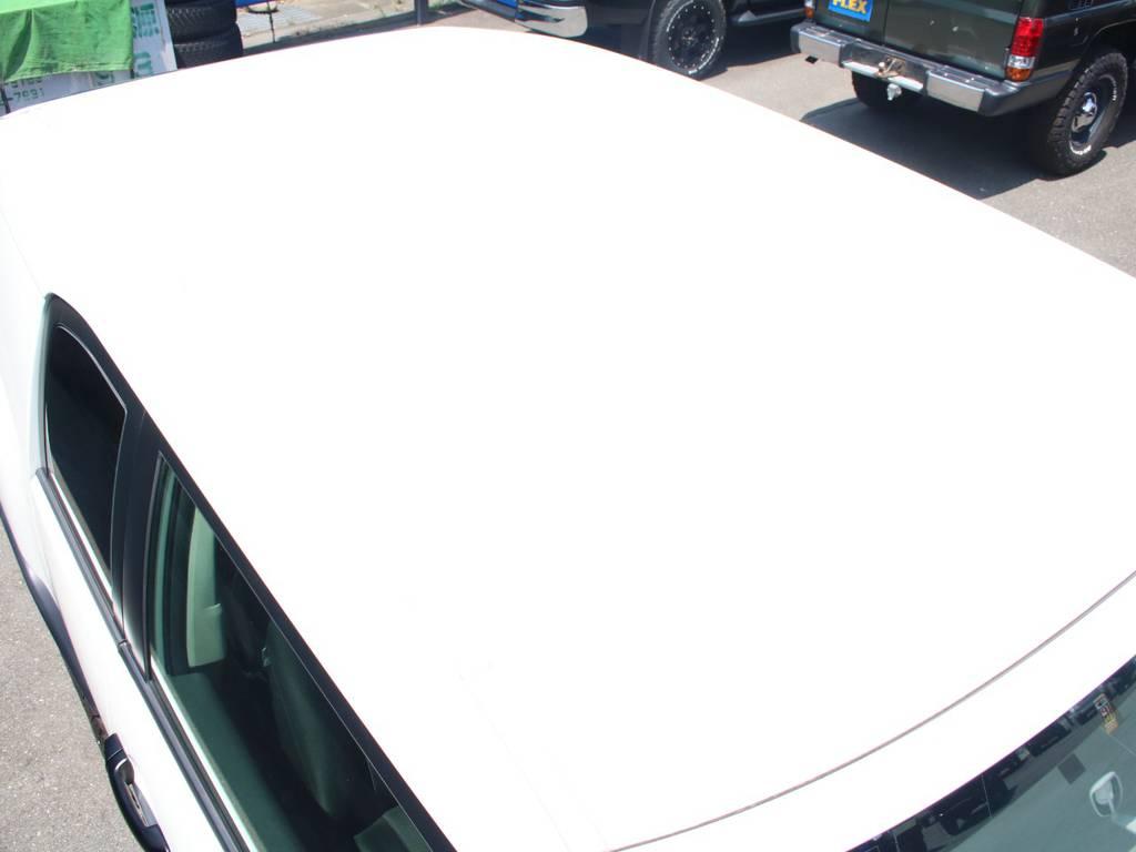 ルーフ面もキレイに保たれております☆ | トヨタ FJクルーザー 4.0 4WD