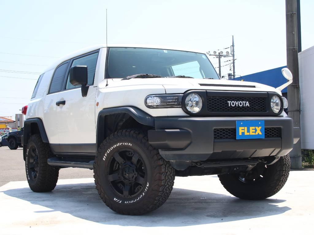 絶版になりましたが人気が衰えないFJクルーザー、新入庫です☆ | トヨタ FJクルーザー 4.0 4WD