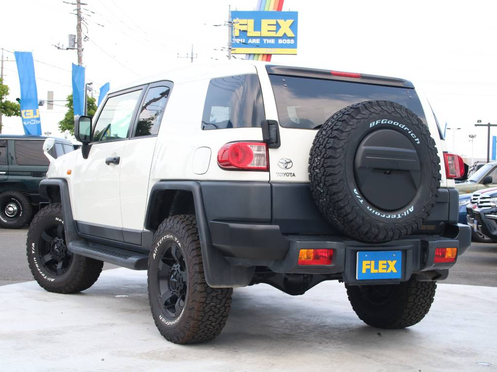 もちろんここからの追加カスタムもご相談下さい☆ | トヨタ FJクルーザー 4.0 4WD