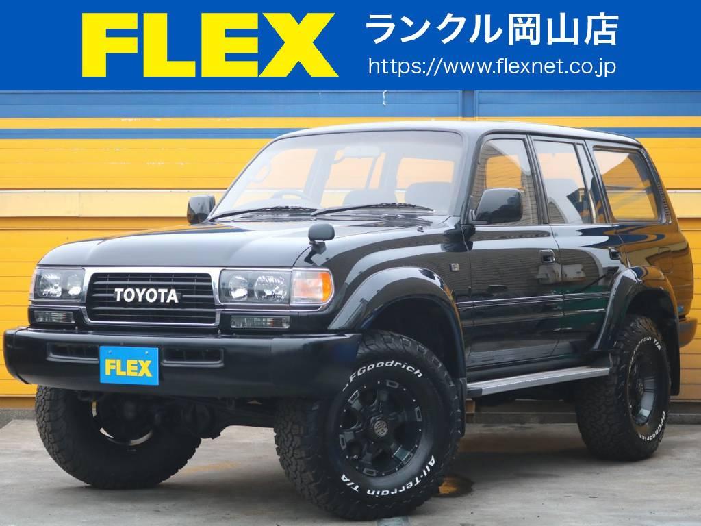 ランクル80 オールペイント×ブラック 3インチリフトUP 新品AW×新品MTタイヤ | トヨタ ランドクルーザー80 4.2 VXリミテッド ディーゼルターボ 4WD