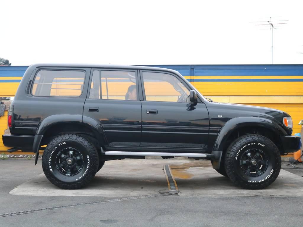 新品タイヤ&アルミを装着しております。 | トヨタ ランドクルーザー80 4.2 VXリミテッド ディーゼルターボ 4WD