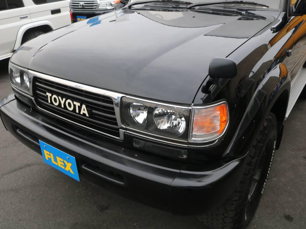 旧トヨタロゴのワンオフ仕様です♪ | トヨタ ランドクルーザー80 4.2 VXリミテッド ディーゼルターボ 4WD