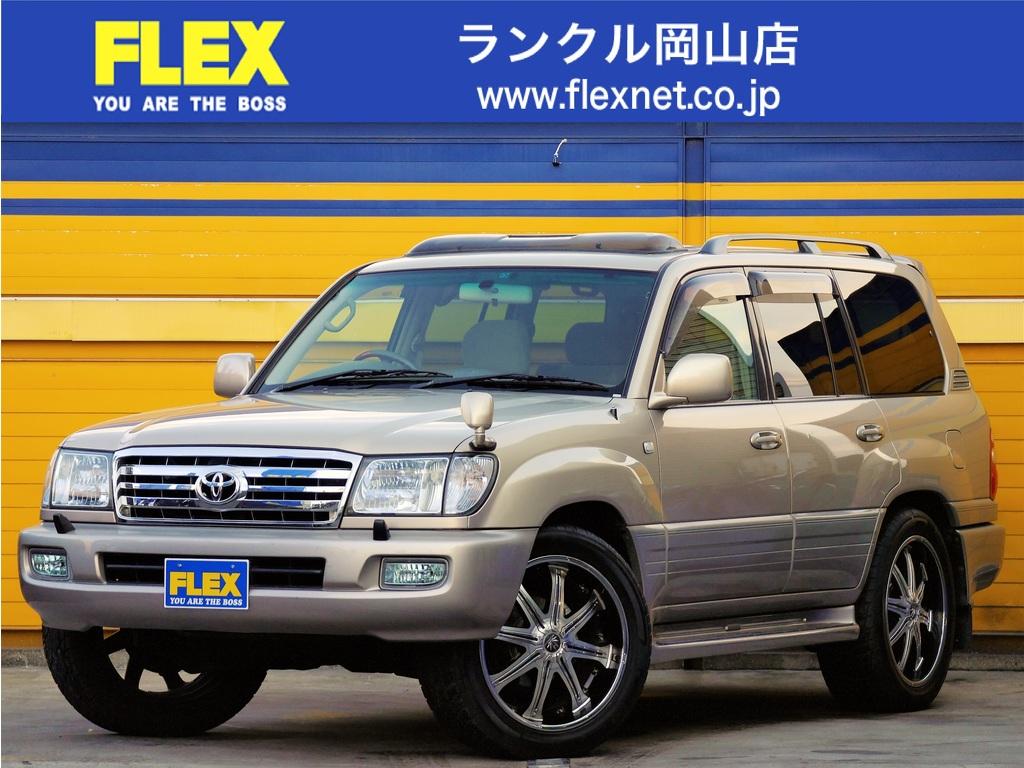 ランドクルーザー1004.7 VXリミテッド Gセレクション 4WD ランクル100 4700G 買取直販 Gセレクション 22インチアルミ