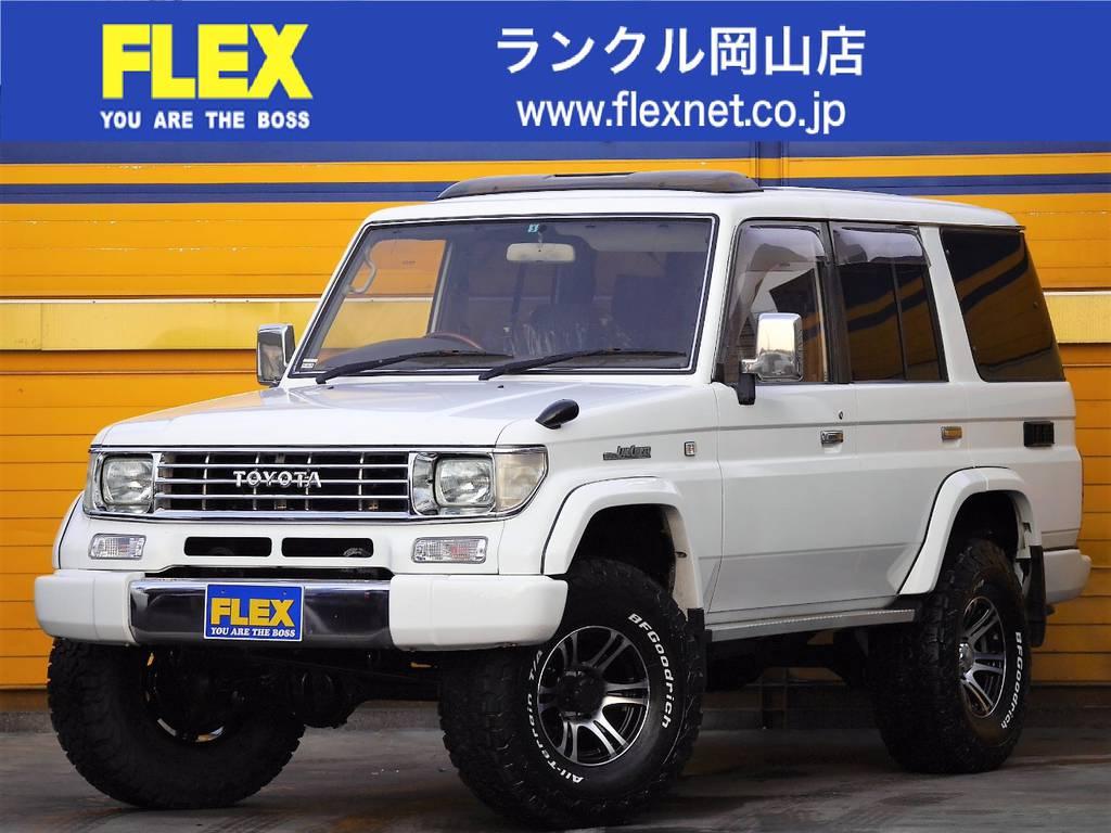 ランクル78プラド 3000DT リフトアップ!後期型!
