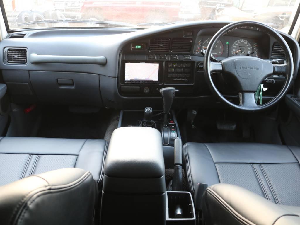 内装は綺麗に保たれております!!   トヨタ ランドクルーザー80 4.2 VXリミテッド ディーゼル 4WD