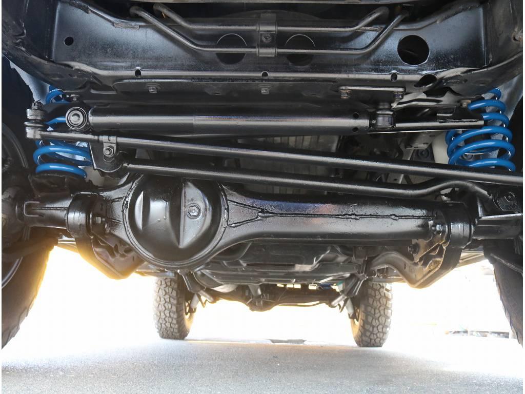 下廻りサビも少なく良い状態です!   トヨタ ランドクルーザー80 4.2 VXリミテッド ディーゼル 4WD