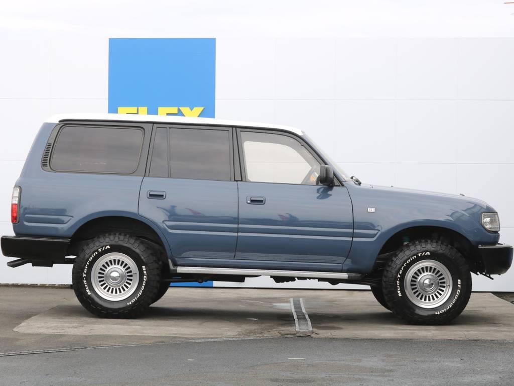 サイドビュー   トヨタ ランドクルーザー80 4.2 VXリミテッド ディーゼル 4WD