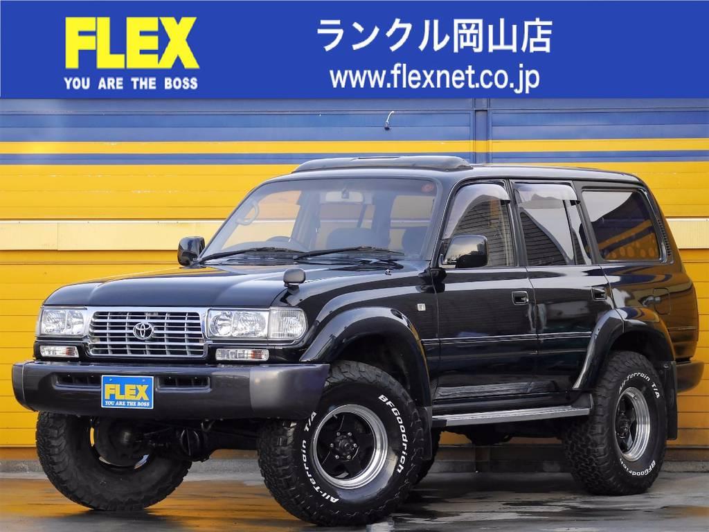 ランドクルーザー80 4.2 VXリミテッド 最終モデル 純正ブラック 買取直販!
