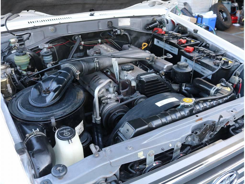 耐久性に優れたエンジンで御座います。