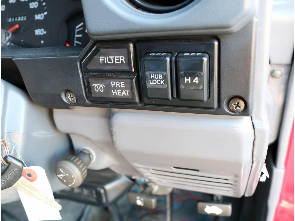 パートタイム4WD!燃費も以外に良いのです(^^♪