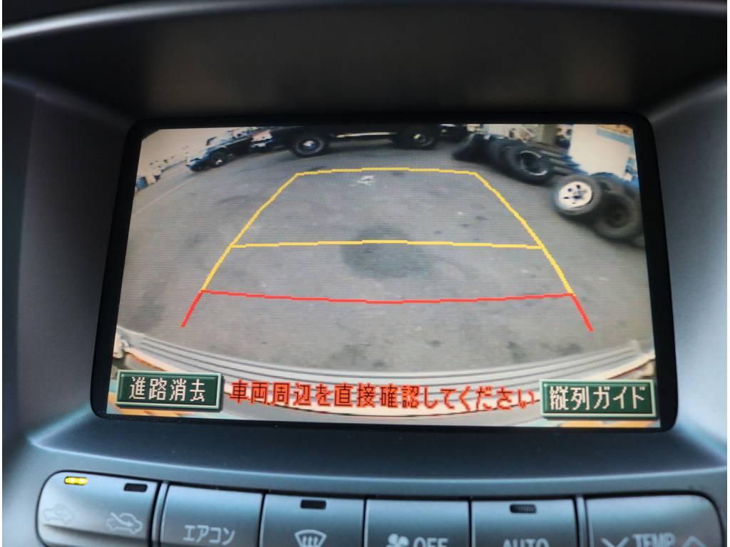 大きな車でも安心!バックカメラもついてます! | トヨタ ランドクルーザーシグナス 4.7 4WD