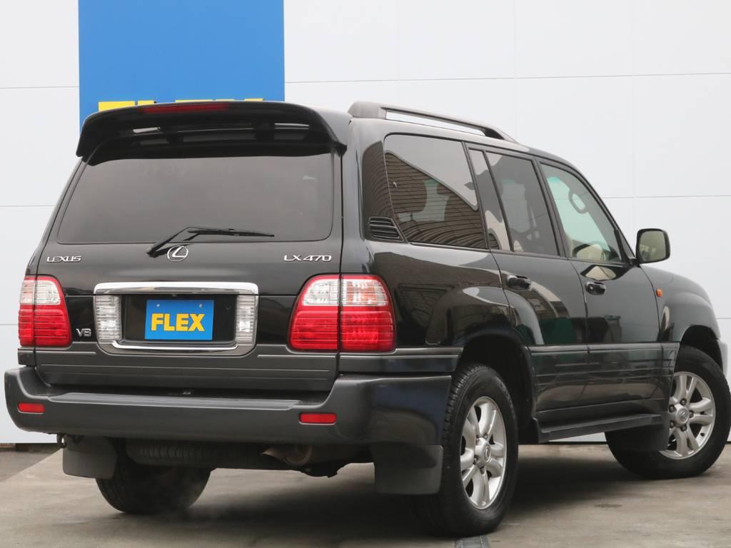 当社ではフレックス保証を販売させて頂いております!納車後から手放すその時まで保証付きでお乗り頂く事が可能です。 | トヨタ ランドクルーザーシグナス 4.7 4WD
