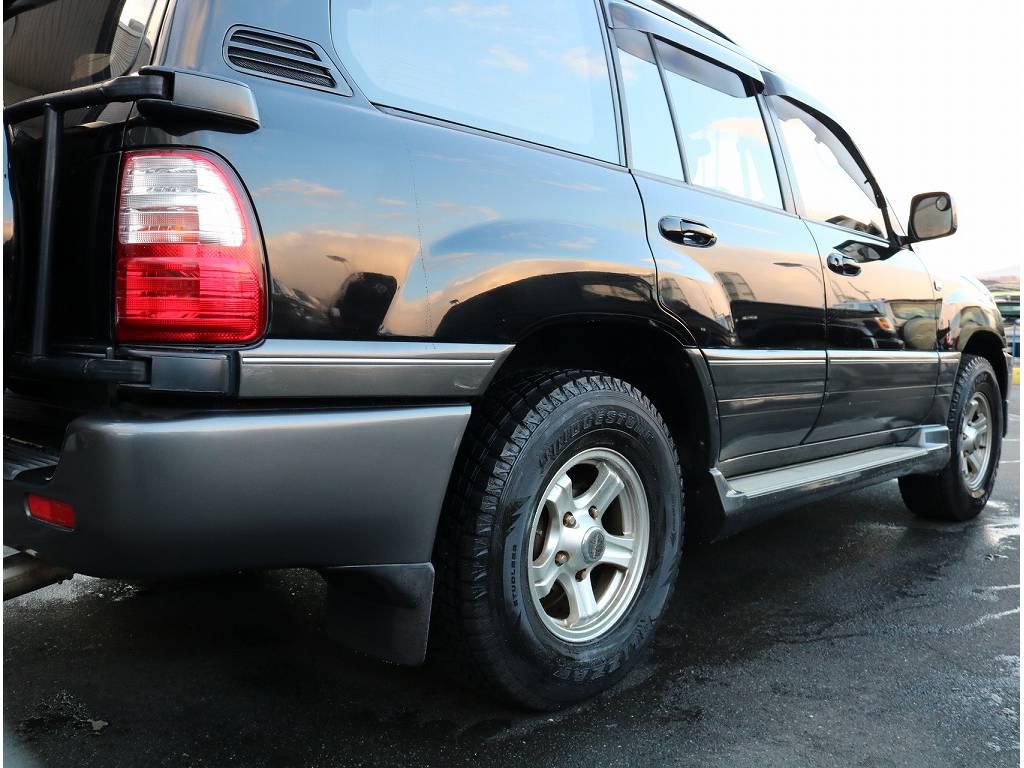 このボディラインが良いと言って頂く、コアなお客様もいらっしゃいます! | トヨタ ランドクルーザーシグナス 4.7 4WD