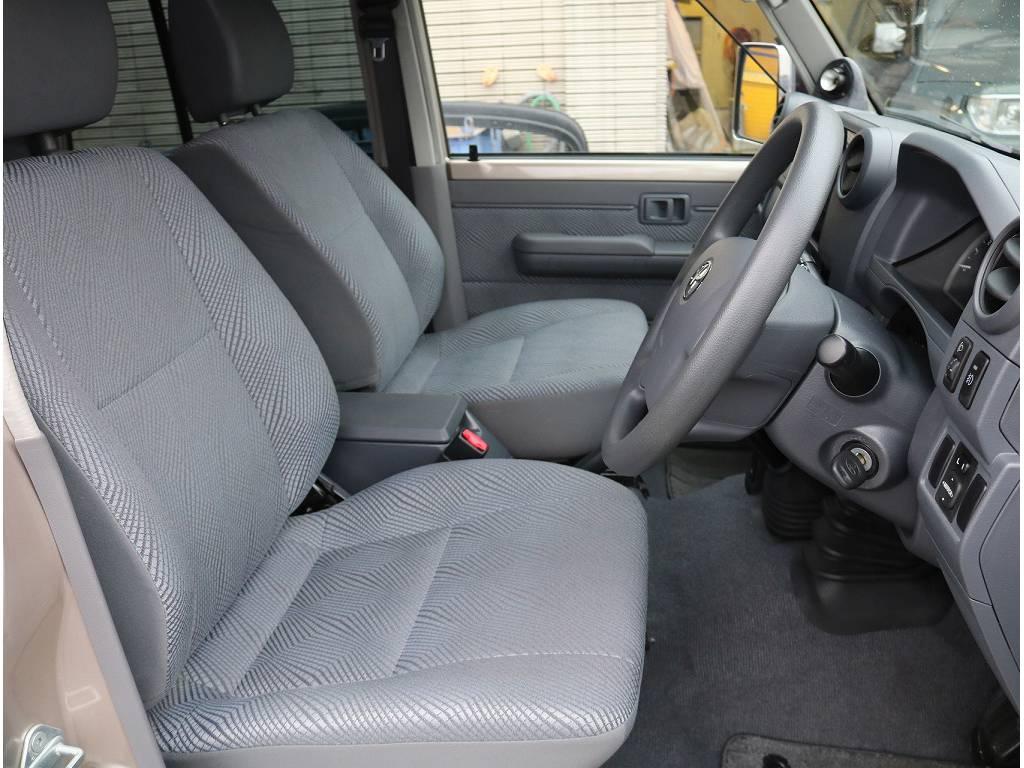 内装もヘタリが少なく良い状態です♪ | トヨタ ランドクルーザー70 4.0 4WD