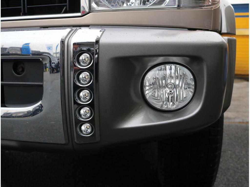 デイライト&フォグライト装着済です! | トヨタ ランドクルーザー70 4.0 4WD
