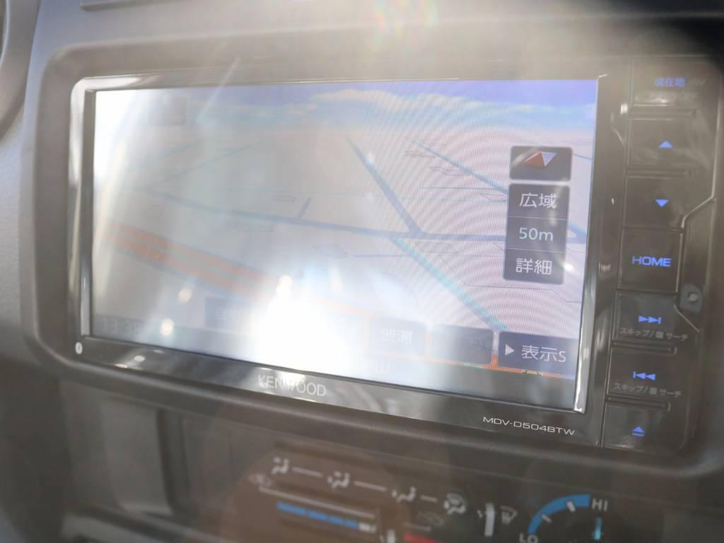 新品フルセグSDナビをインストール済です!! | トヨタ ランドクルーザー70 4.0 4WD