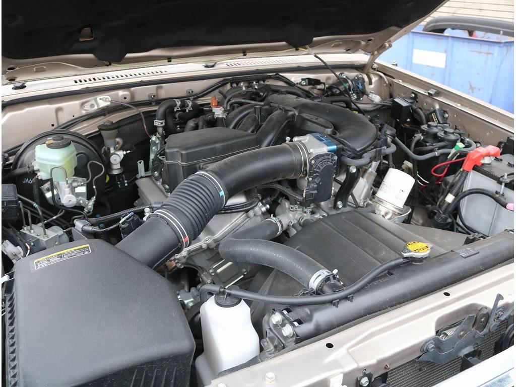 4000ccV6エンジンです!勿論パワフルにお使い頂けます! | トヨタ ランドクルーザー70 4.0 4WD