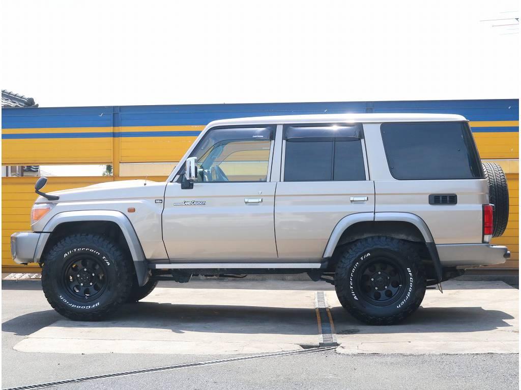 関東や関西などの排ガス規制エリアでの登録運行も勿論可能で御座います! | トヨタ ランドクルーザー70 4.0 4WD