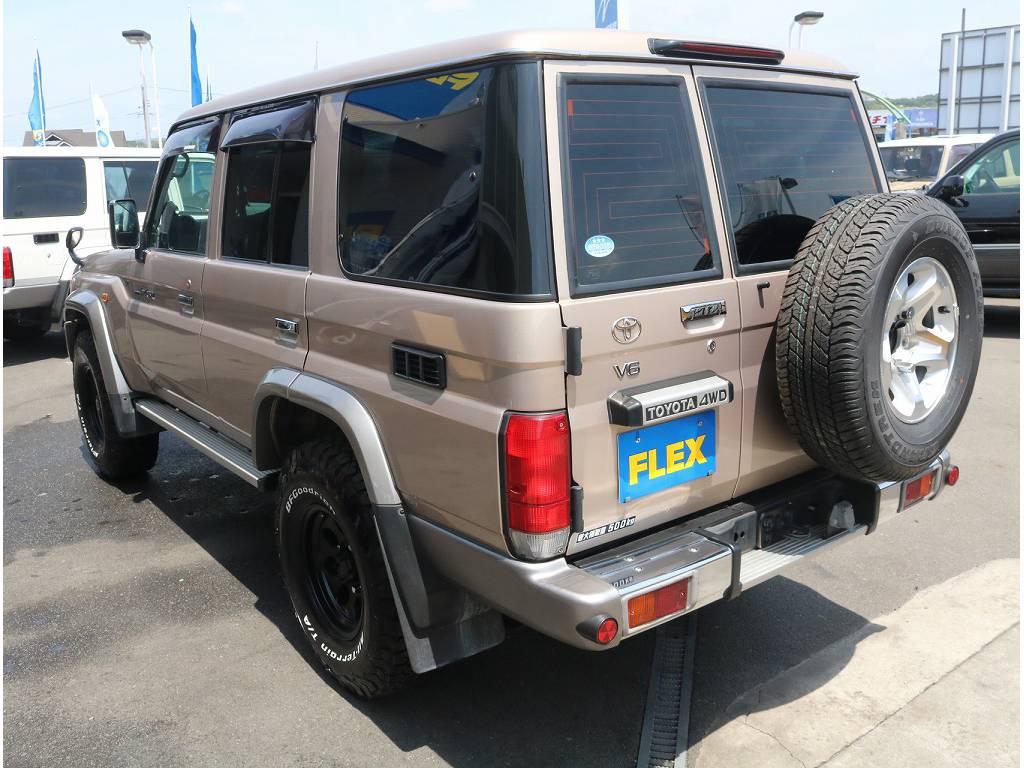 外装の状態も非常に良く、大切にお乗り頂いたのが伝わって参ります! | トヨタ ランドクルーザー70 4.0 4WD