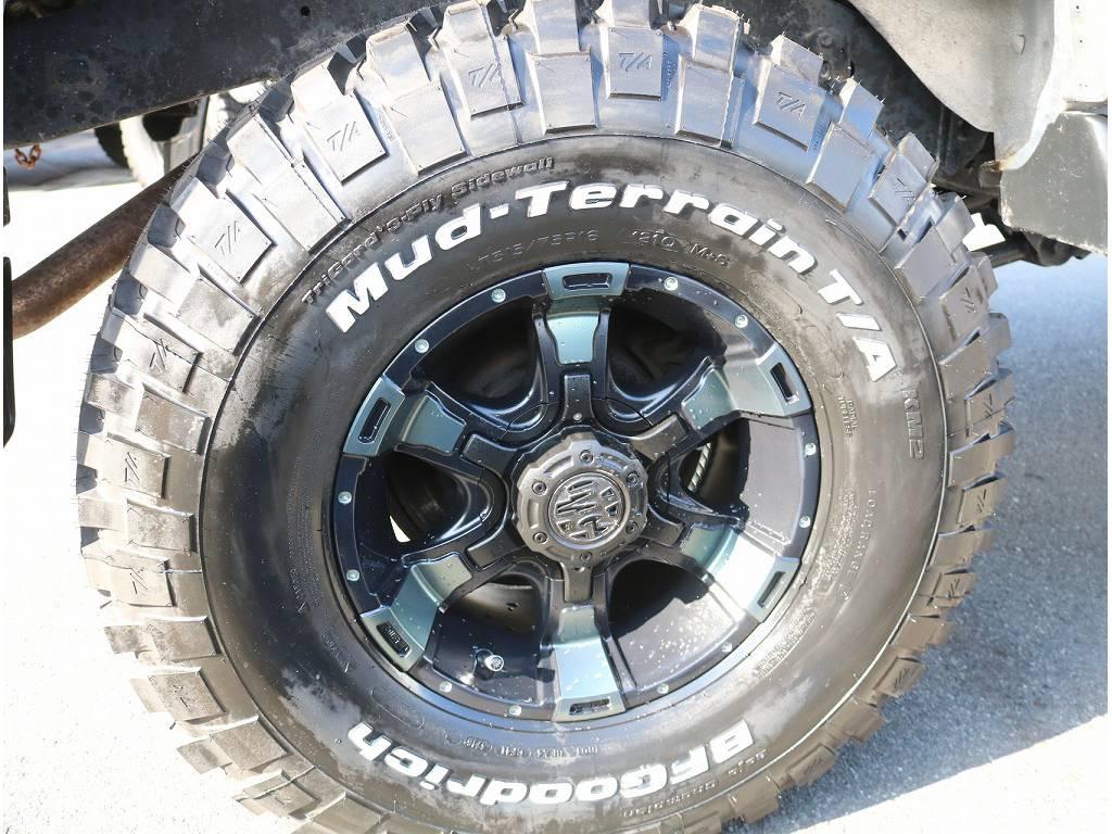 新品BFグッドリッチMTタイヤ&新品ヴァンパイアホイール16インチ! | トヨタ ランドクルーザー80 4.2 VXリミテッド ディーゼルターボ 4WD