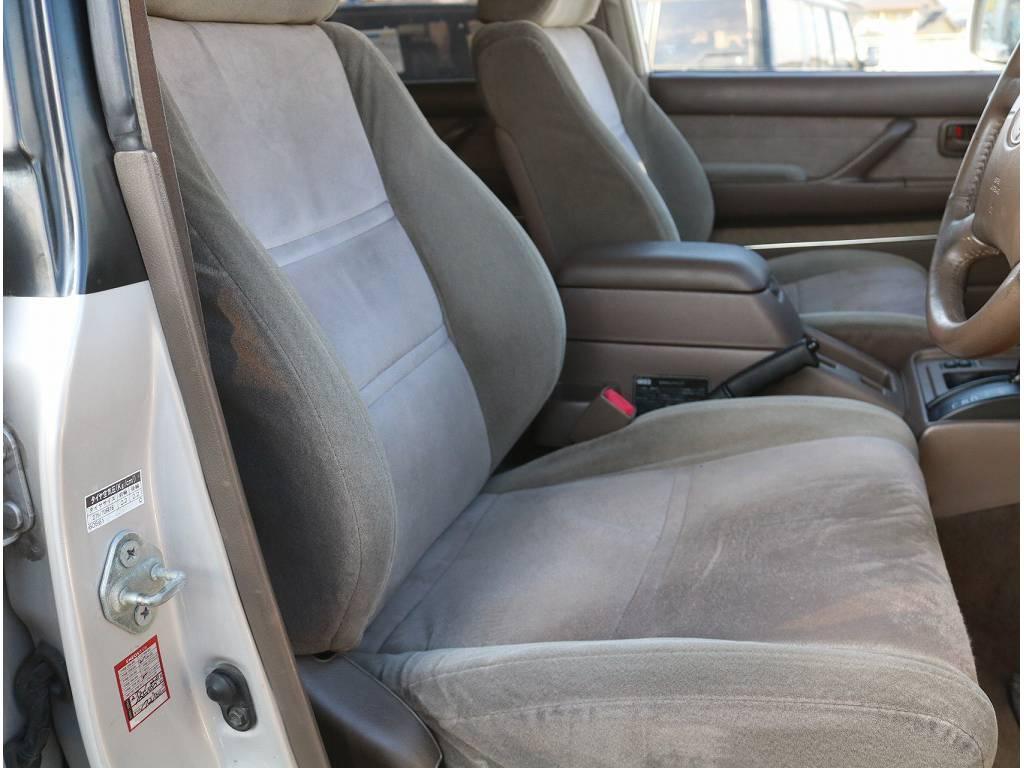 車内広々!! | トヨタ ランドクルーザー80 4.2 VXリミテッド ディーゼルターボ 4WD