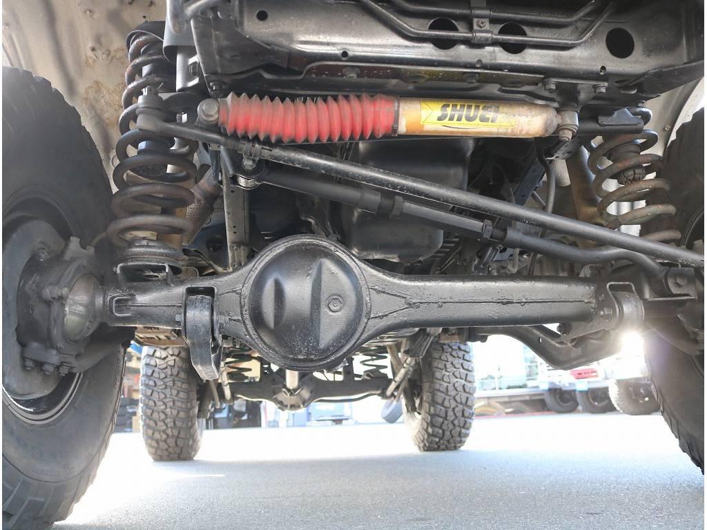 下廻り錆少なく良い状態です! | トヨタ ランドクルーザー80 4.2 VXリミテッド ディーゼルターボ 4WD