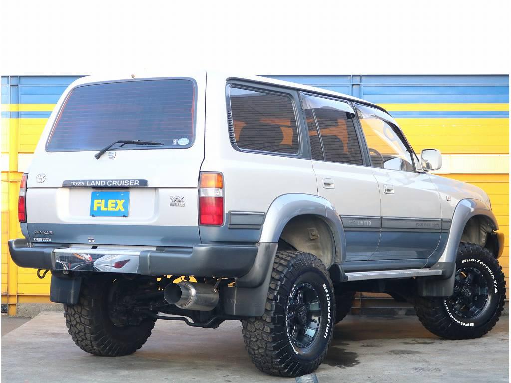 リフトアップで迫力大!! | トヨタ ランドクルーザー80 4.2 VXリミテッド ディーゼルターボ 4WD