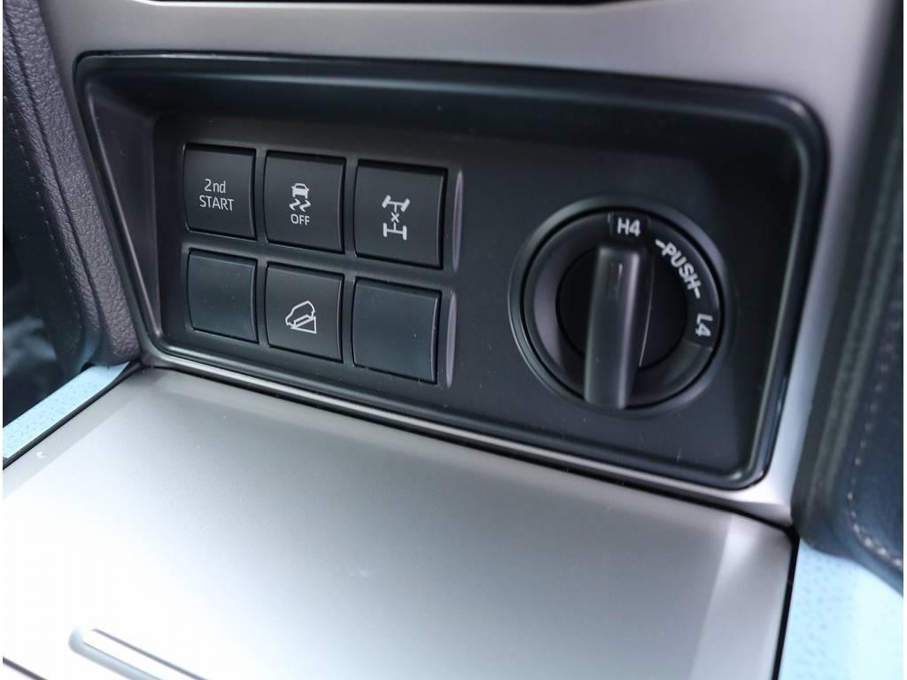 純正オプション寒冷地仕様に加えて装備も充実しております! | トヨタ ランドクルーザープラド 2.8 TX ディーゼルターボ 4WD