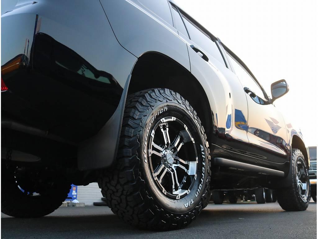 即納可能なカスタム済み車両になっております!! | トヨタ ランドクルーザープラド 2.8 TX ディーゼルターボ 4WD