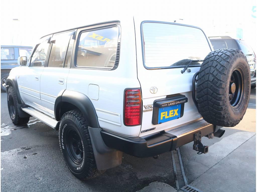追加カスタム承ります! | トヨタ ランドクルーザー80 4.2 VX ディーゼル 4WD