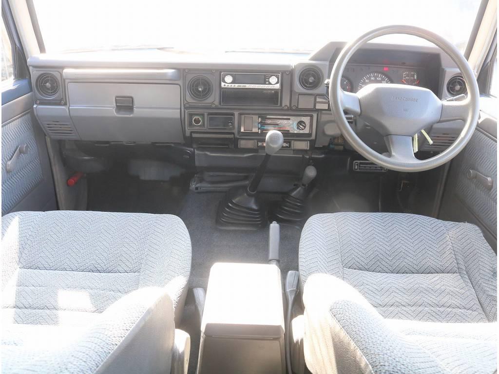 ランドクルーザー77入庫致しました!!   トヨタ ランドクルーザー70 4.2 LX ディーゼル 4WD