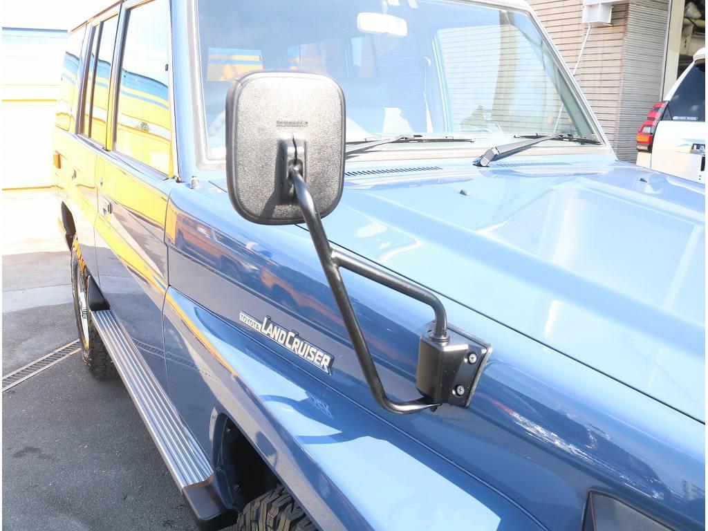 フェンダーミラー装着車輛になっております!!   トヨタ ランドクルーザー70 4.2 LX ディーゼル 4WD