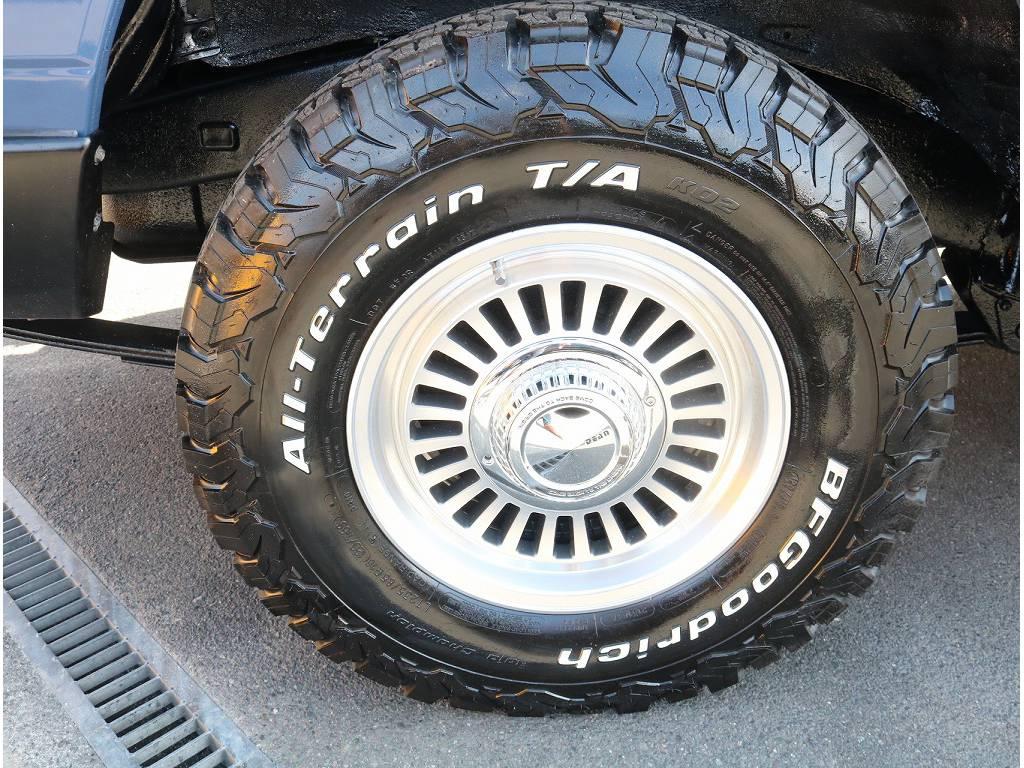 新品DEENアルミホイール&新品BFGタイヤがついております!!   トヨタ ランドクルーザー70 4.2 LX ディーゼル 4WD