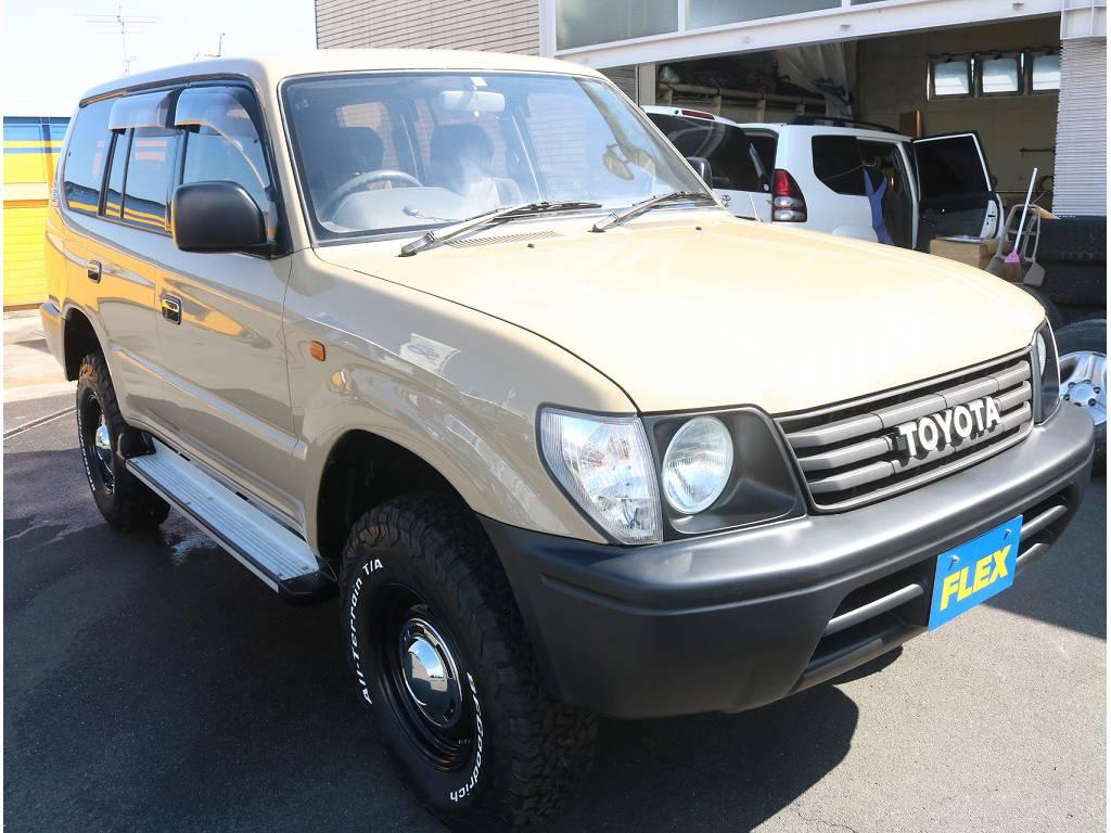   トヨタ ランドクルーザープラド 3.0 TZ ディーゼルターボ 4WD