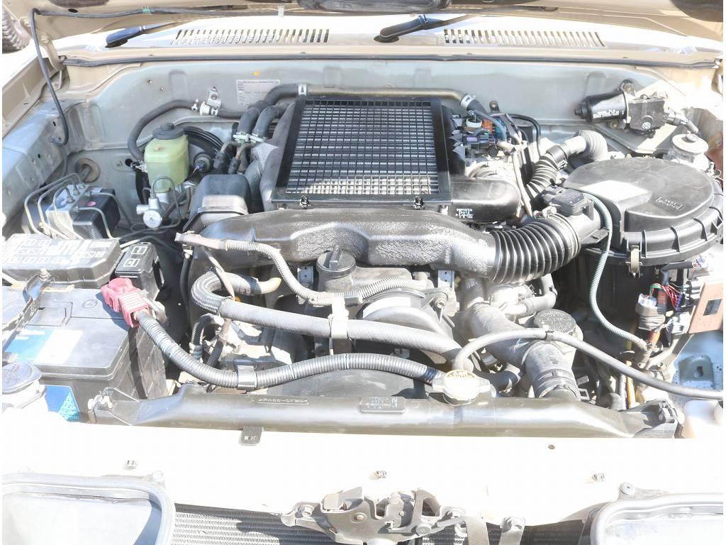 しっかりと長くお乗り頂けるエンジンとなっております! | トヨタ ランドクルーザープラド 3.0 TX ディーゼルターボ 4WD
