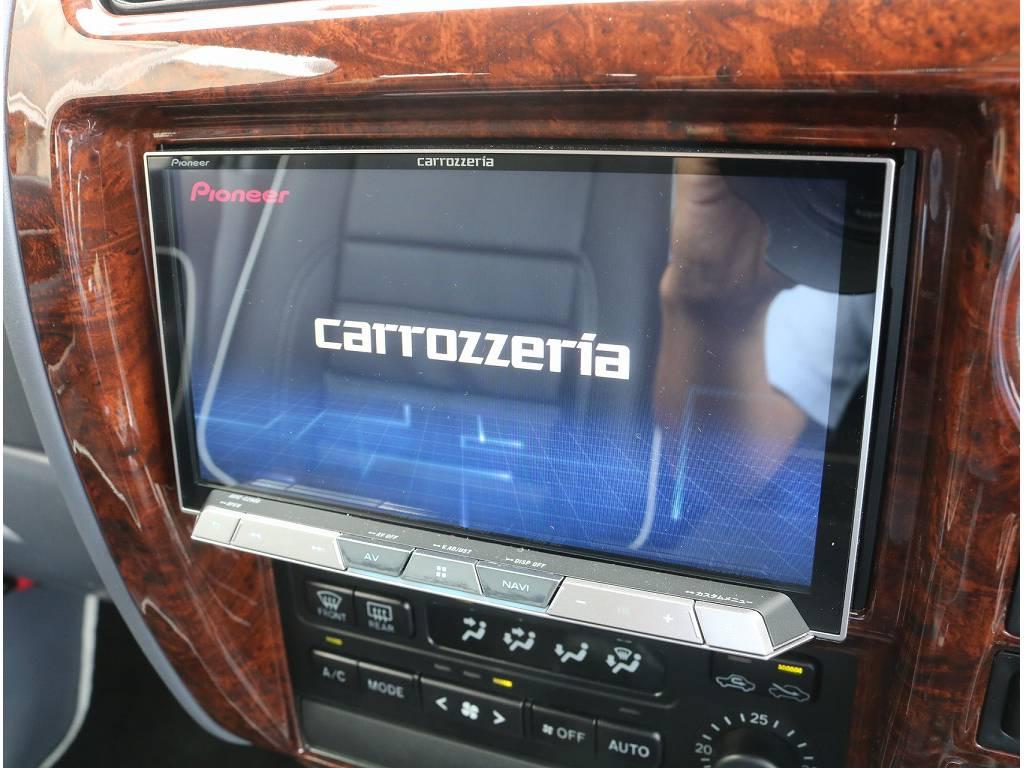 新品carrozerriaサイバーナビもついております!