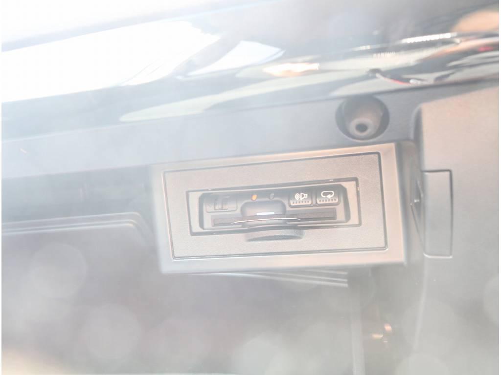 ETCも完備していますので遠出するにも完璧です!! | トヨタ ランドクルーザープラド 2.8 TX ディーゼルターボ 4WD