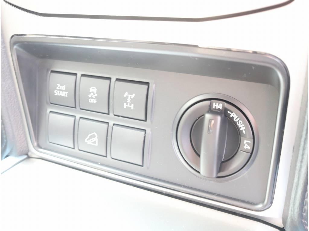 フルタイム4WD車輛ですので、どんな道でも安心してお乗りいただけます!! | トヨタ ランドクルーザープラド 2.8 TX ディーゼルターボ 4WD