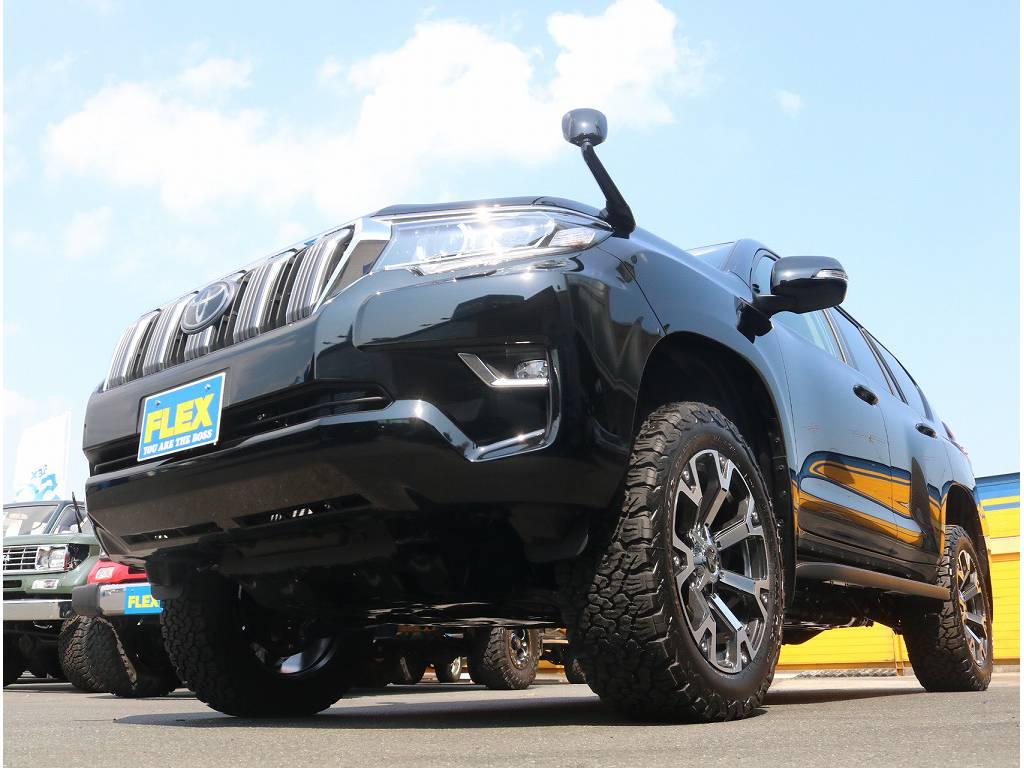 BFグッドリッチKO2オールテレンタイヤがついております!! | トヨタ ランドクルーザープラド 2.8 TX ディーゼルターボ 4WD