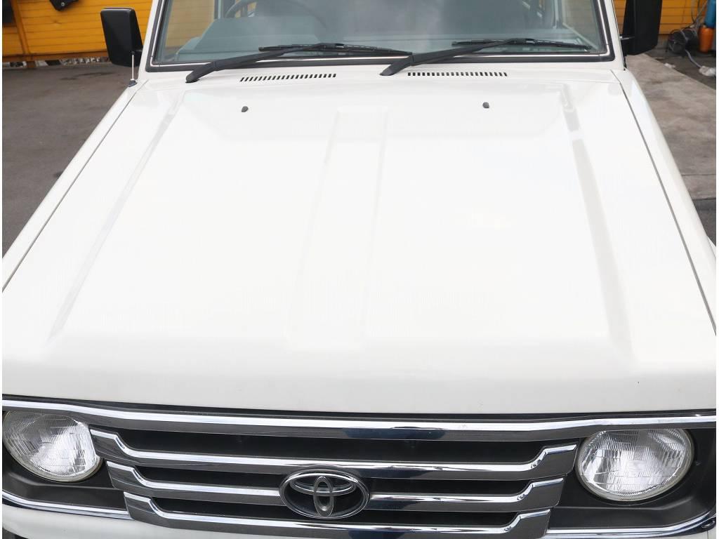 外装はとても綺麗に仕上がっております!! | トヨタ ランドクルーザー70 4.2 LX ディーゼル 4WD