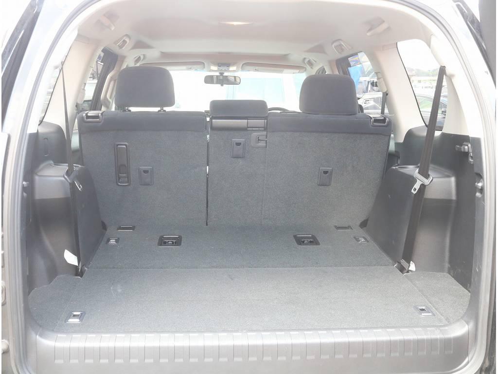 ラゲッジルームも広々!! | トヨタ ランドクルーザープラド 2.7 TX 4WD