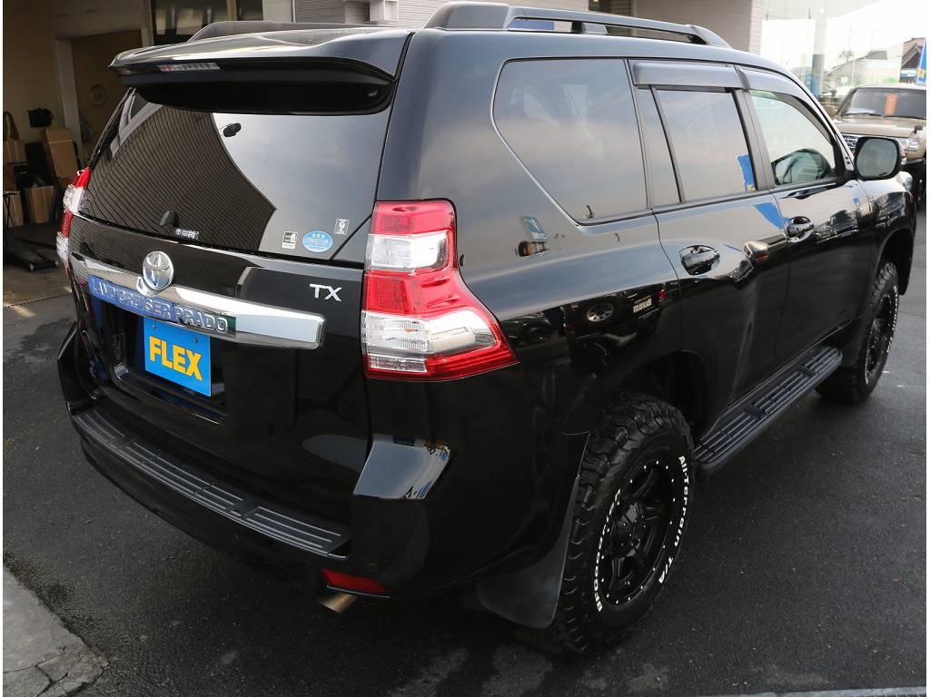 リアビュー | トヨタ ランドクルーザープラド 2.7 TX 4WD