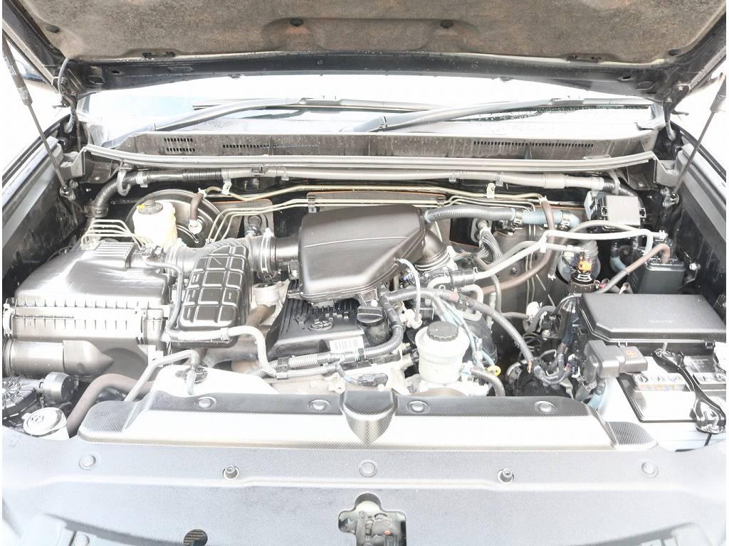 2.7Lガソリンエンジンになっております!! | トヨタ ランドクルーザープラド 2.7 TX 4WD