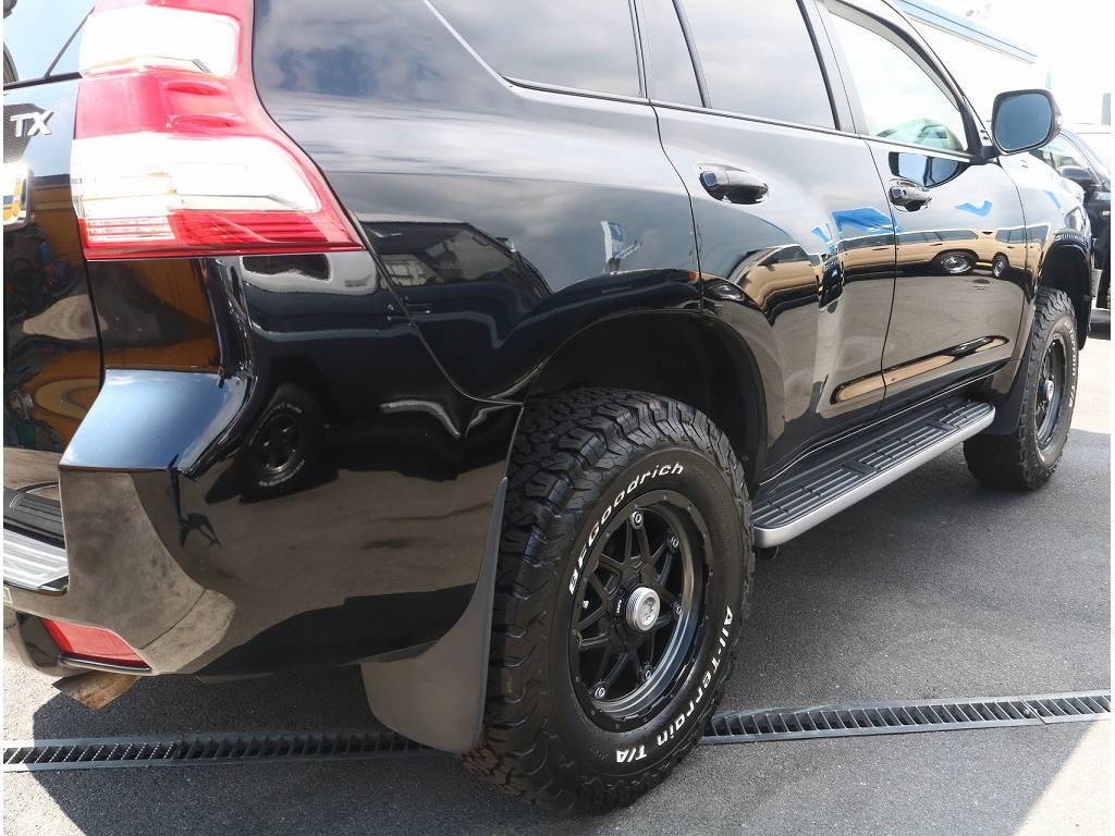 リフトUPなどのカスタムも承ります!! | トヨタ ランドクルーザープラド 2.7 TX 4WD