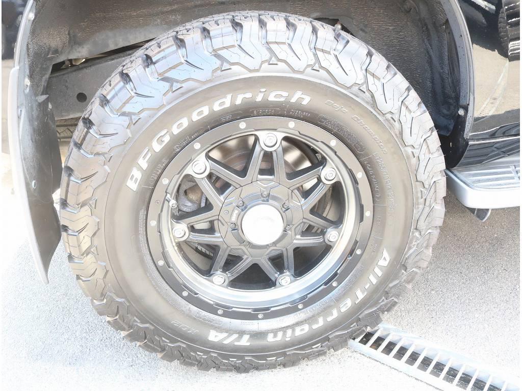 新品BFGタイヤ&新品アルミホイール   トヨタ ランドクルーザープラド 2.7 TX 4WD