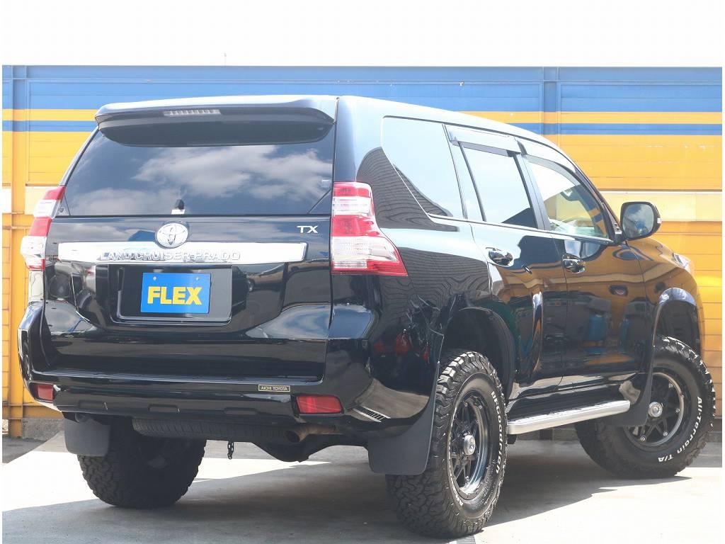 人気のブラックカラーになっております!!   トヨタ ランドクルーザープラド 2.7 TX 4WD