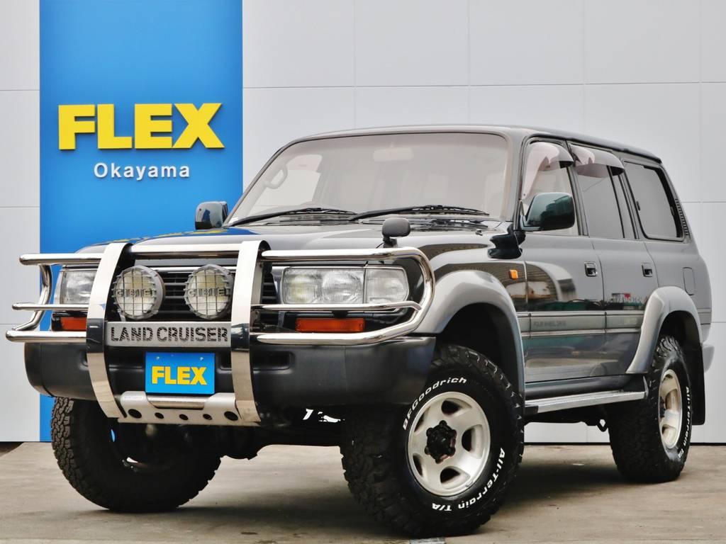 ランドクルーザー80!最上級グレードVXLTD!4.5Lガソリンエンジン!中々お目に掛かれない低走行4万km台の車輛です♪