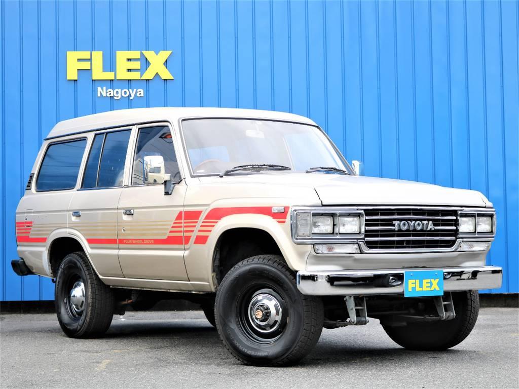 名実共に名高いランクル60、発売から30年経った今もまだまだ人気の車輛になっております!!