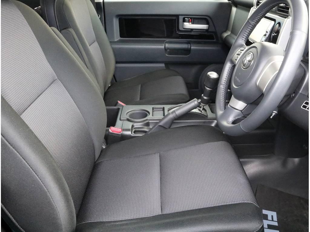 前席シートも程度良く保たれており丁寧に使用されていたのが伝わります!