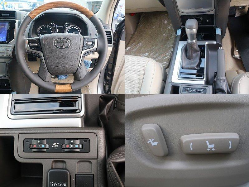 TX-Lパッケージ本革シートならではの電動シート、シートエアコン完備です。